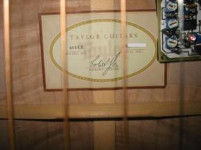 Taylor614ラベル
