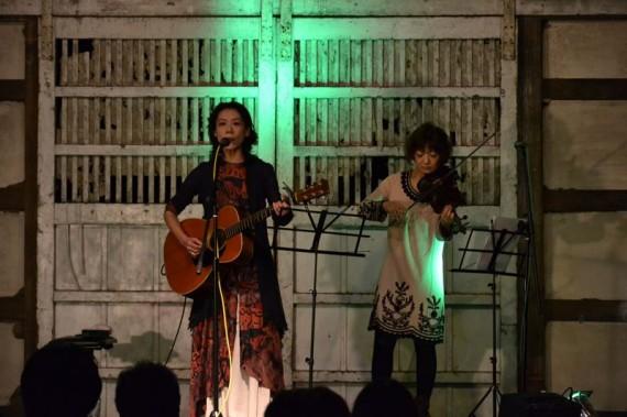 火取ゆき with 柴田奈穂