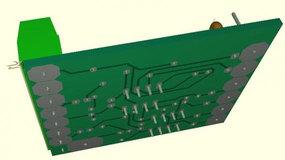 プリアンプ基板3D表示2